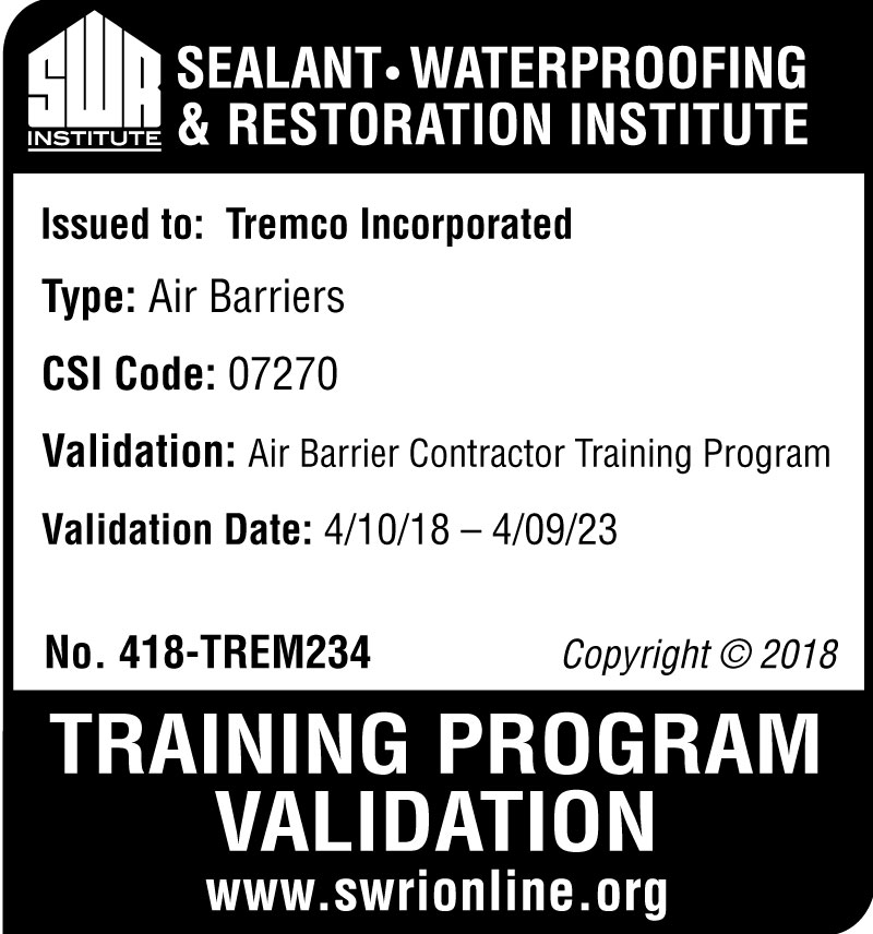 SWR Institute (Sealant, Waterproofing, Restoration Institute)